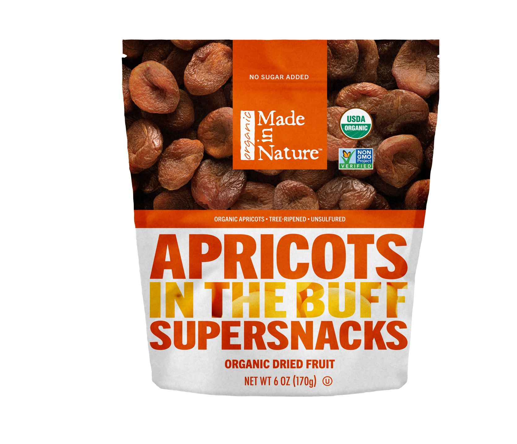 Unsulphured Apricots from Made in Nature