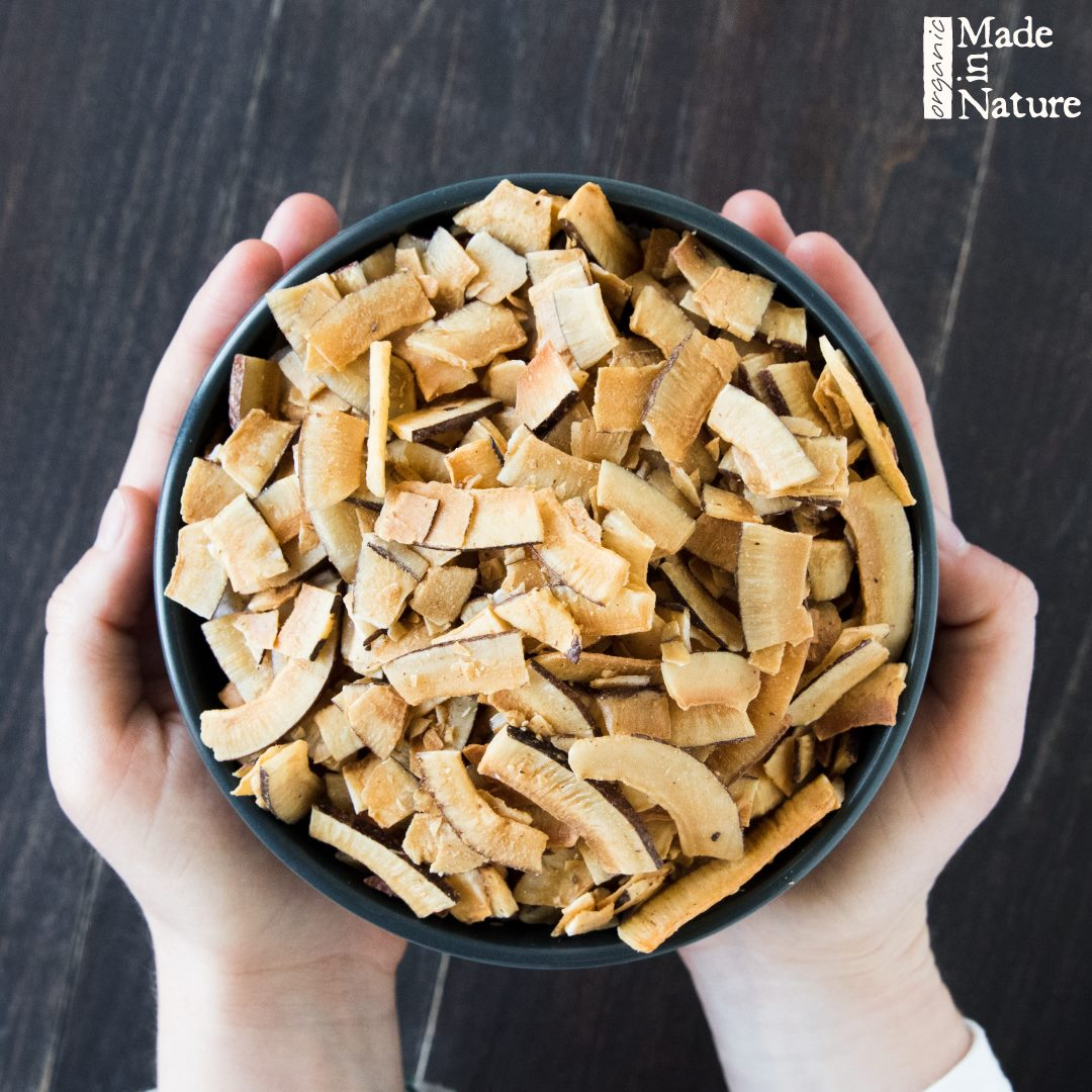 Toasted Coconut Chips from Made in Nature